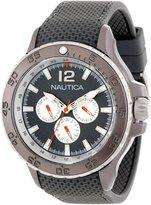 Nautica Men's Nst N18672G Rubber Quartz Watch