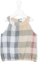 Burberry sleeveless top - kids - Cotton - 2 yrs