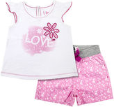 Lee Graphic Top and Shorts Set - Toddler Girls 2t-4t