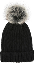 Accessorize Ribbed Pom Beanie Hat