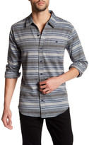 Ezekiel Zuma Striped Long Sleeve Regular Fit Shirt