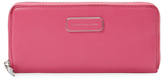 Marc by Marc Jacobs Ligero Leather Slim Zip Around Wallet