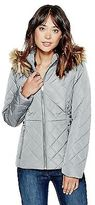 GUESS Women's Luann Belted Puffer Jacket