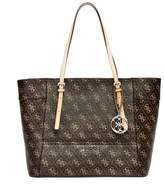 GUESS Delaney Logo Small Classic Tote