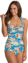 Esther Williams Seaside Classic Sheath One Piece Swimsuit 8120070