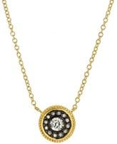 Freida Rothman Women's 'Hamptons' Nautical Button Pendant Necklace