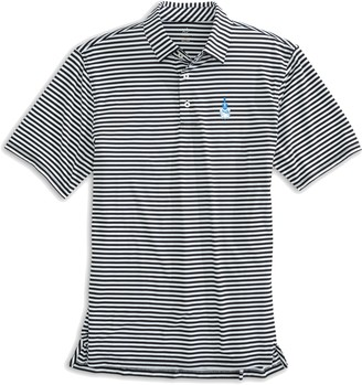 Southern Tide Citadel Bulldogs Striped Polo Shirt