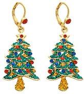 Butler & Wilson Butler and Wilson Crystal Christmas Tree Drop Earrings