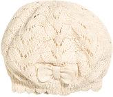 H&M Pattern-knit Beret - Natural white - Kids