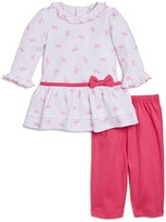 Kissy Kissy Girls' Bow Dress & Leggings Set