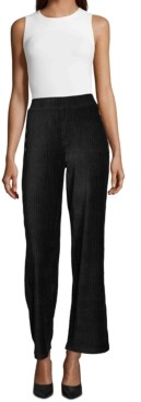 John Paul Richard Corduroy Wide-Leg Pants