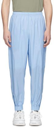 Martin Asbjorn Blue Nylon Lounge Pants