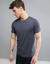 Reebok Training Cordura T-shirt In Grey Bk3986