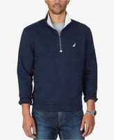 Nautica Men's Big & Tall Quarter-Zip Front Fleece