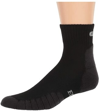 Eurosock Sport Medium Quarter Cool (White) Crew Cut Socks Shoes