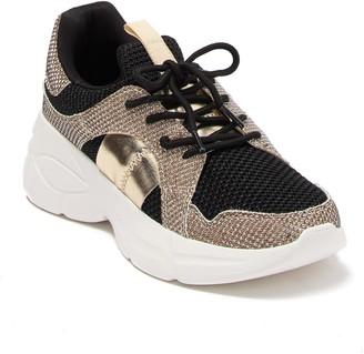 Call it SPRING Vandal Metallic Platform Sneaker