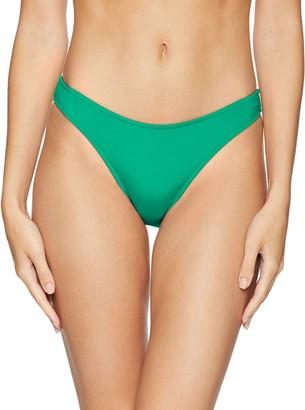 Seafolly Women's 80's Flashback High Cut Bikini Bottom Swimsuit