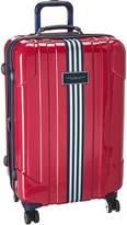 """Tommy Hilfiger Reji Stripe 24"""" Upright Suitcase"""