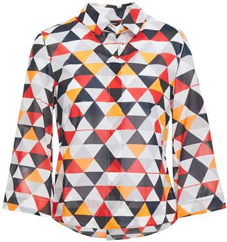 Akris Printed Cotton Shirt