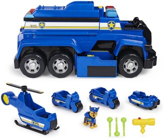 Paw Patrol PAW Patrol, Chases 5-in-1 Ultimate Police Cruiser with Lights and Sounds, for Kids Aged 3 and Up
