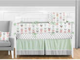 Sweet Jojo Designs Mod Arrow 9 Piece Crib Bedding Set