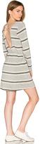 Chaser Cross Back Mini Dress in Gray