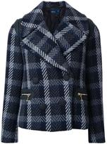 Kolor checked coat