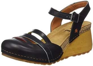 Art 1323 Memphis Borne, Women's Closed Toe Sandals, Black, (37 EU)