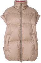Maison Margiela oversized padded gilet coat