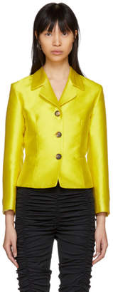 Molly Goddard Yellow Apollo Blazer