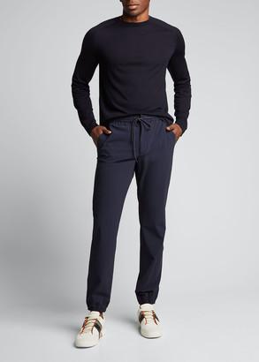 Ermenegildo Zegna Men's High Performance Wool Crewneck Sweater