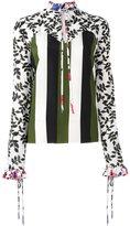 MSGM ruffled blouse - women - Silk/Polyester - 40