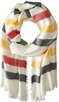 Pendleton Stripe Featherweight Wool Scarf Women's Sweater