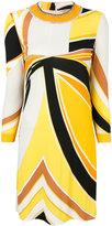 Emilio Pucci embellished neck dress