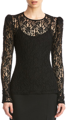 Bailey 44 Jenna Lace Long-Sleeve Top w/ Cami