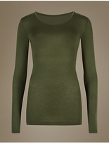 M&S Collection HeatgenTM Thermal Longline Top