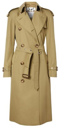 Burberry Animalia Print-Lined Trench Coat
