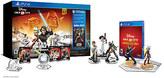 Disney Infinity: Star Wars Saga Starter Pack Bundle for PS4 (3.0 Edition)