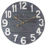 Infinity Instruments Tree House Wall Clock Distressed Blue