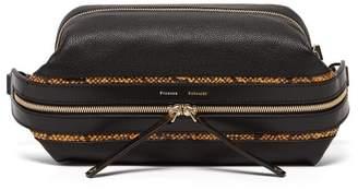 Proenza Schouler Pebbled-leather Belt Bag - Womens - Black Multi