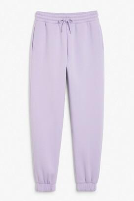 Monki Cotton sweatpants