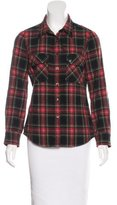 Etoile Isabel Marant Wool-Blend Button-Up