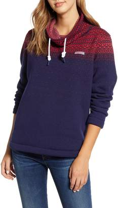 Vineyard Vines Fair Isle Funnel Neck Pullover