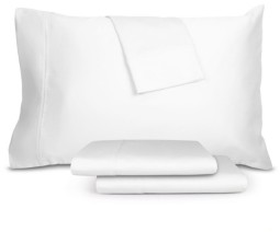 Aq Textiles RestWell Antimicrobial 4 pc Queen Sheet Set, 1000 Thread Count Bedding