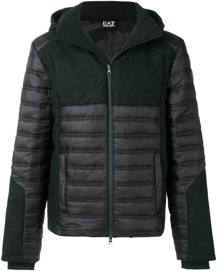 Emporio Armani Ea7 zipped padded jacket
