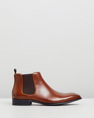 Double Oak Mills Klim Leather Gusset Boots