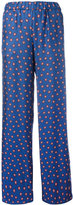 P.A.R.O.S.H. printed stars flared pants - women - Silk - S