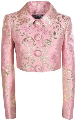 Dolce & Gabbana Embroidered Cropped Jacket