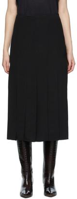 Joseph Black Silk Saria Skirt