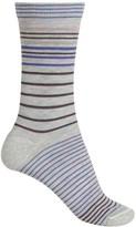Woolrich Wool City Stripe Socks - Crew (For Women)